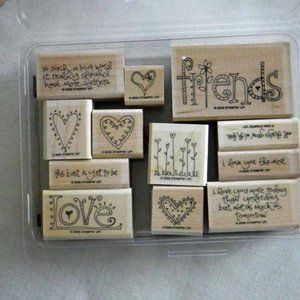 Stampin' Up! Love Matters Stamp Set